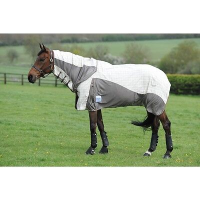 WEATHERBEETA KOOL COAT AIRSTREAM MESH ATTACHED NECK COMBO HORSE FLY RUG SHEET