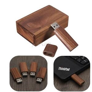 4g 8g 16g 32g cl usb 2 0 flash drive m moire b ton u disque boitier bois pr pc ebay. Black Bedroom Furniture Sets. Home Design Ideas