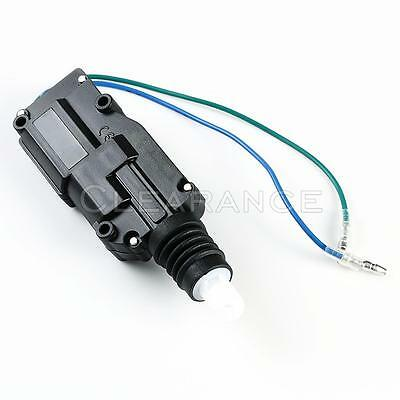 New Compact Door Lock Actuator Fits Most Cars 2 Wire  Dla 02
