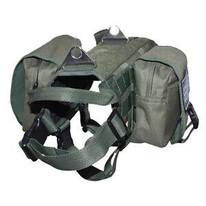 Tactical Police K9 Service Dog Vest Harness Removable