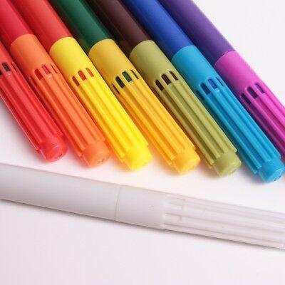 8Pc MAGIC COLOUR PEN SET Bright Vibrant Swap Change Colouring Felt Tip Markers