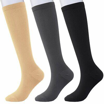 Compression Socks Women & Men 15-20mmHg - Best Medical,Nursing,Hiking,Travel