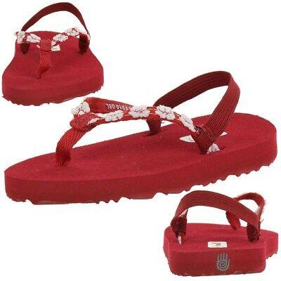 Girls Kinder Sandalen Zehentrenner Schuhe Kids  (Flowergirl Schuhe)