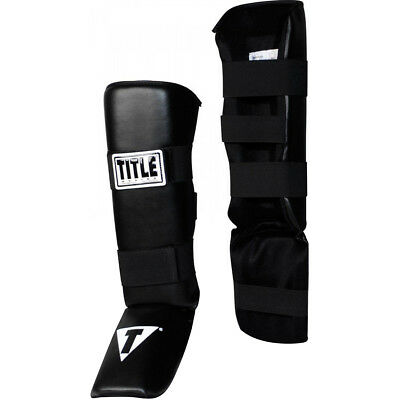 Large Max Strength Shin Guard Instep Foam Pad Boxing Knee Brace Support MMA Foot Protection Kickboxing