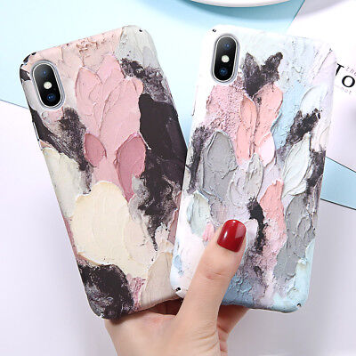 Degree Full Body Protection Watercolor painting Cover Case For iPhone XS MAX XR ()