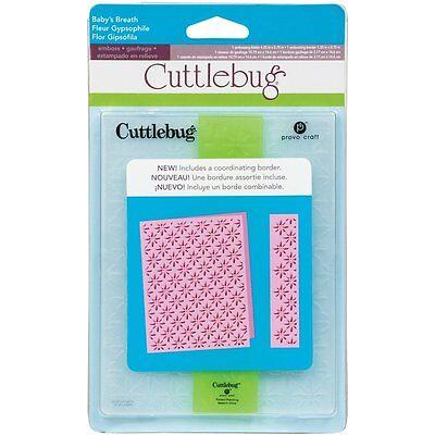 NEW Cricut Cuttlebug Embossing Folder + Border Baby