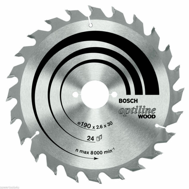 Bosch Optiline Wood circular saw blade 160 x 20/16 x 2.6 mm. 36 2608640597