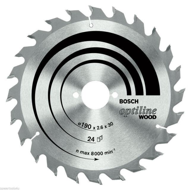 Bosch Optiline Wood circular saw blade 160 x 20/16 x 2.6 mm. 36 2608640597
