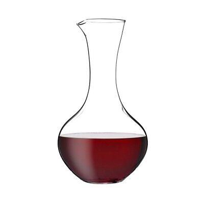 1 (One) RIEDEL Crystal Shiraz Syrah Decanter 36.75 fl oz - Signed