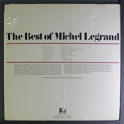 MICHEL LA GRAND: Best Of LP (shrink)