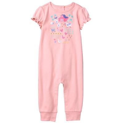 NWT Gymboree Little Farm Romper Baby Girl Newborn Essential NB,0-3-6-12-18