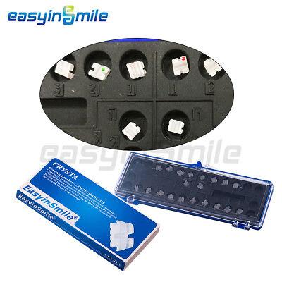 1pack Easyinsmile Orthodontic Ceramic Braces Dental Bracket Roth 022 3 4 5whook