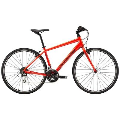 SPECIALIZED QUICK 7 2019 MENS HYBRID LARGE ACID RED