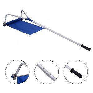 Lightweight Roof Rake Snow Removal Tool 20FT Adjustable Telescoping Handle  New