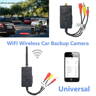 High Quality WiFi Wireless Car Backup Camera 903W Video Rearview Transmitter Kit
