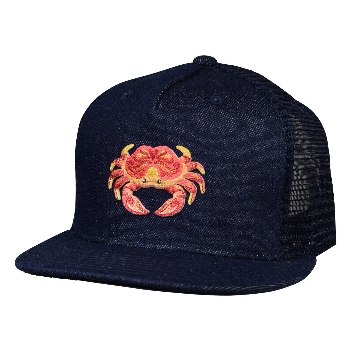 San Francisco Dungeness Crab Trucker Hat By Let's Be Irie...