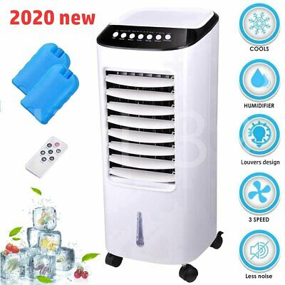 Evaporative Air Cooler Humidifier Portable Conditioner Fan Air Conditioning Unit