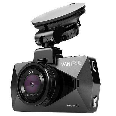 Vantrue X1 Full HD 1080P 170° Wide Angle Dash Cam Dashboard Video Camera DVR