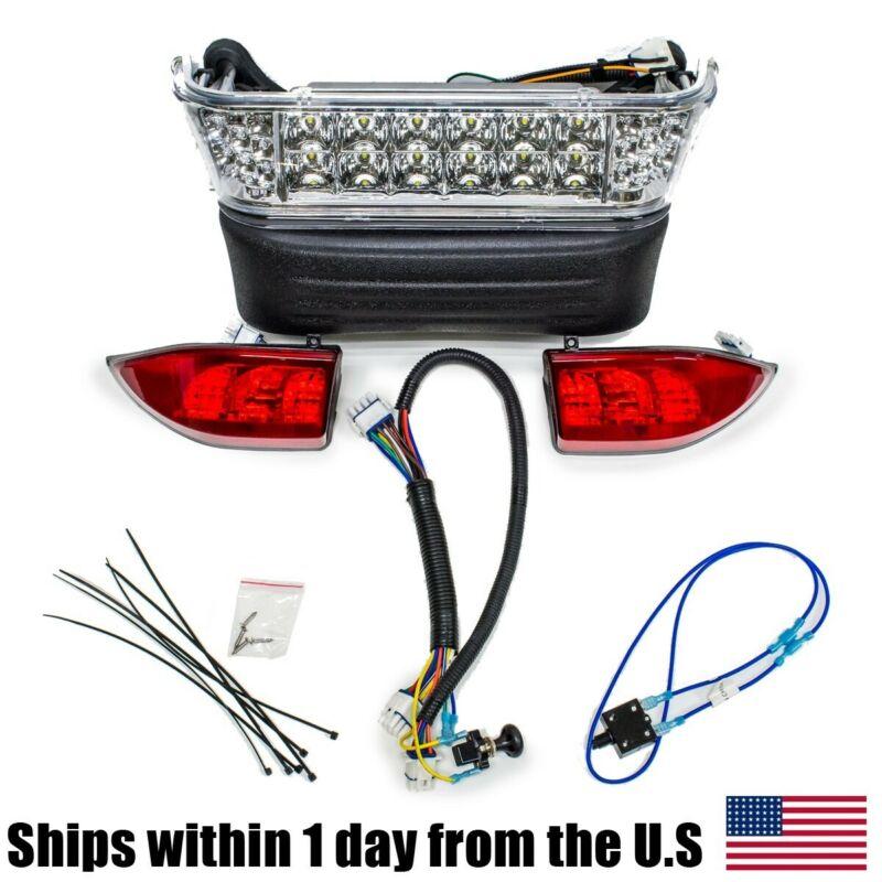 Golf Cart LED Headlight & Tail Light Kit for Club Car Precedent (2004-08.5)