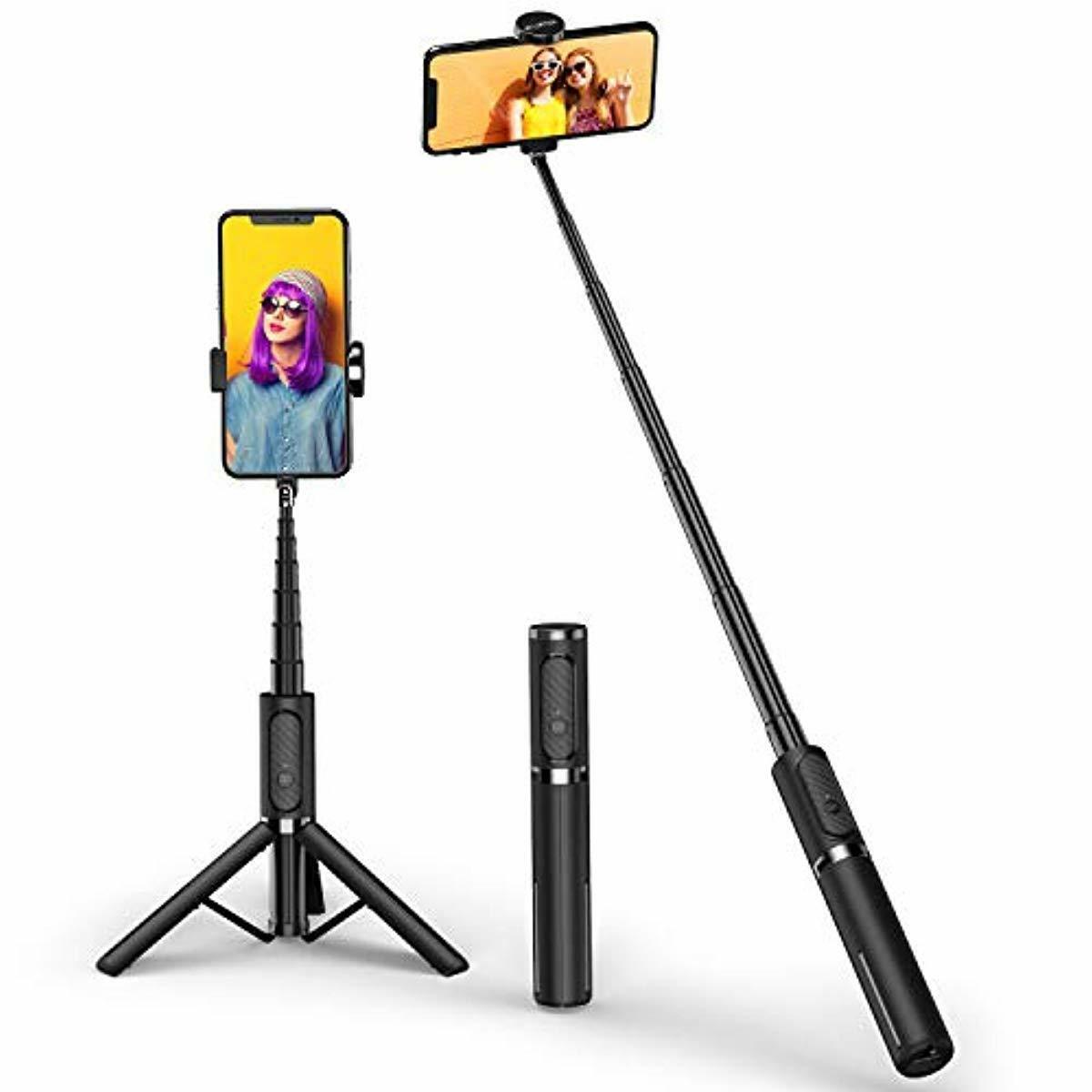 ATUMTEK Bluetooth Selfie Stick Tripod, Mini Extendable 3 in