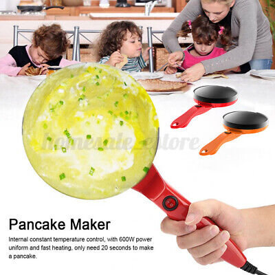 7inch Electric Crepe Maker Non Stick Baking Pancake Frying G