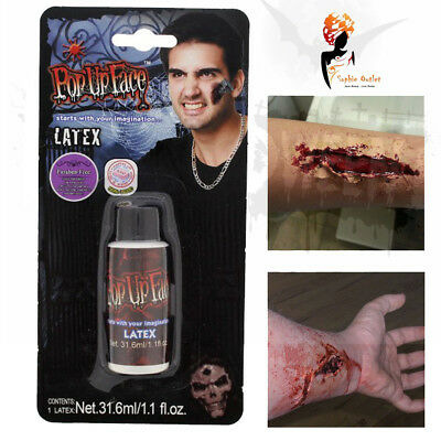 Halloween Liquid Latex Flesh Wound Makeup Zombie Flesh Paint Fancy Dress Stage - Latex Paint Halloween