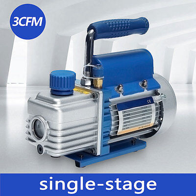 220v 1l 150w 2pa Rotary Vane Vacuum Pump For Hvac Ac R134a Air Conditioning Tool