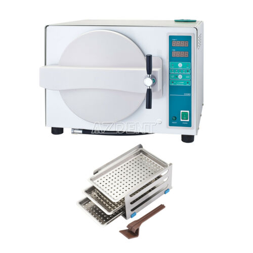 UPS! 18L Dental Lab Medical Autoclave Steam Sterilizer with Drying Function
