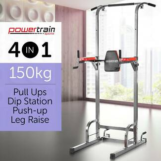 KNEE RAISE POWER TOWER CHIN UP DIP STATION PUSH PULL UP MULTI