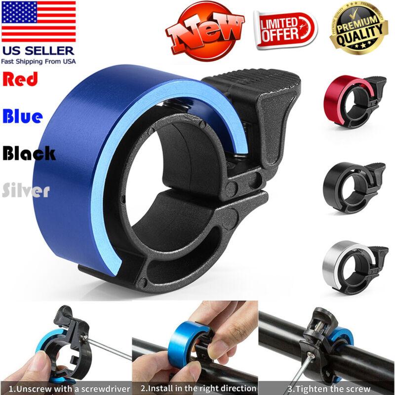 Mini Bicycle Bike Bell Ring Loud Sound Horn Cycling Handlebar Alarm Aluminum MTB