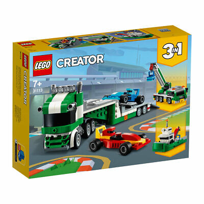 LEGO Creator Race Car Transporter - 31113 For Toy Truck with Trailer TS