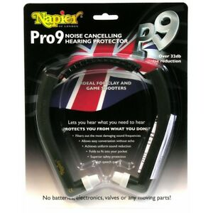 Pro 9 hearing protection from napier - ear plugs muffs shooting