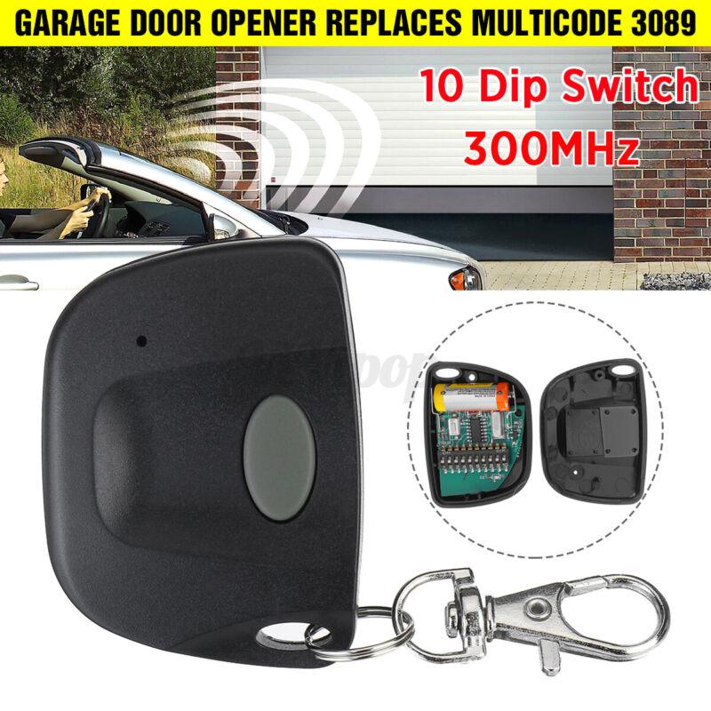 For Multicode 3089 Garage Door Opener Or Gate Opener Mini Remote Transmitter US