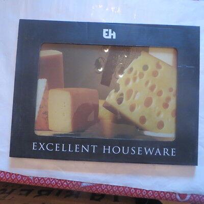 Planche à découper en verre 38 x 28 cm « EH » Excellent Houseware  Hauteur : 30,