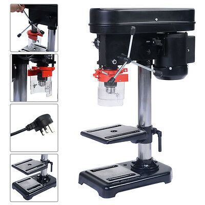 Rotary Pillar Drill Press Bench Top Mounted Drilling Five Speed 13mm 250mm
