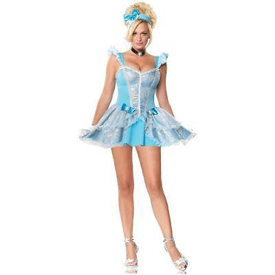 Cinderella Costume Adult Sexy Princess Leg Avenue 83500 sizes xs,s,m,l