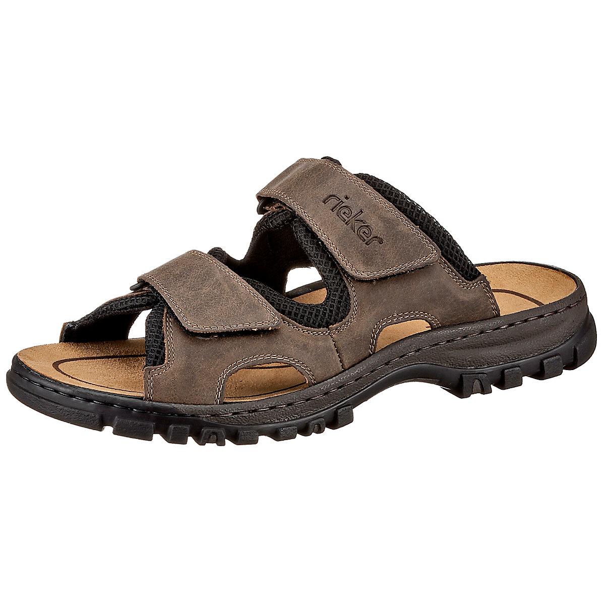 25092 26 Rieker Herren Pantolette sandale Hausschuh **NEU