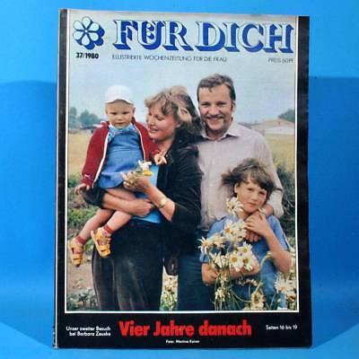 DDR FÜR DICH 37 1980 Cottbus Leipzig Neubrandenburg Mode Buntbarsch Kozik Zeuske