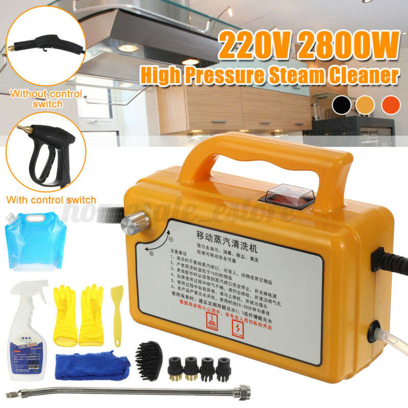 220V 2800W High temperature High Pressure Mobile Cleaning Machine Steam Cleaner
