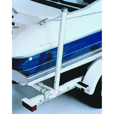 """FULTON BOAT TRAILER GUIDES (2) CLAMP-ON NON-MARRING PVC UPRIGHTS ADJUSTABLE 44"""""""