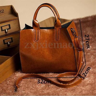 Bag - Women Leather Handbag Purse Messenger Lady Shoulder Crossbody Bag Tote Satchel