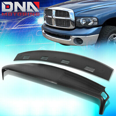 FOR 2002-2005 RAM TRUCK 1500 2500 ABS DEFROST VENT CAP+DASHBOARD COVER OVERLAY