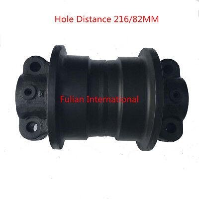 Mini Excavator Track Roller For Hitachi Ex60-2ex60-3hole Distance 21682mm