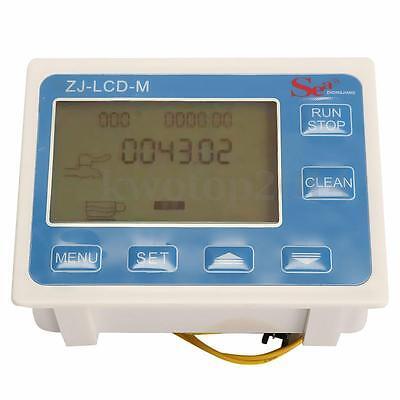 12 Water Diesel Fuel Oil Flow Meter Lcd Display Flow Sensor Solenoid
