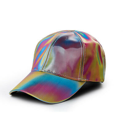 Marty Mcfly Hat (Marty McFly Rainbow Hat Baseball Cap Adjustable Back to the Future Cosplay)