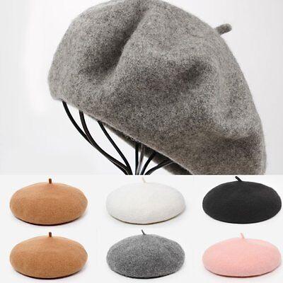 Children Kids Girls Beret Hat Winter Warm Beanie Toddler Newsboy Cap Fashion 1PC - Newsboy Beanie