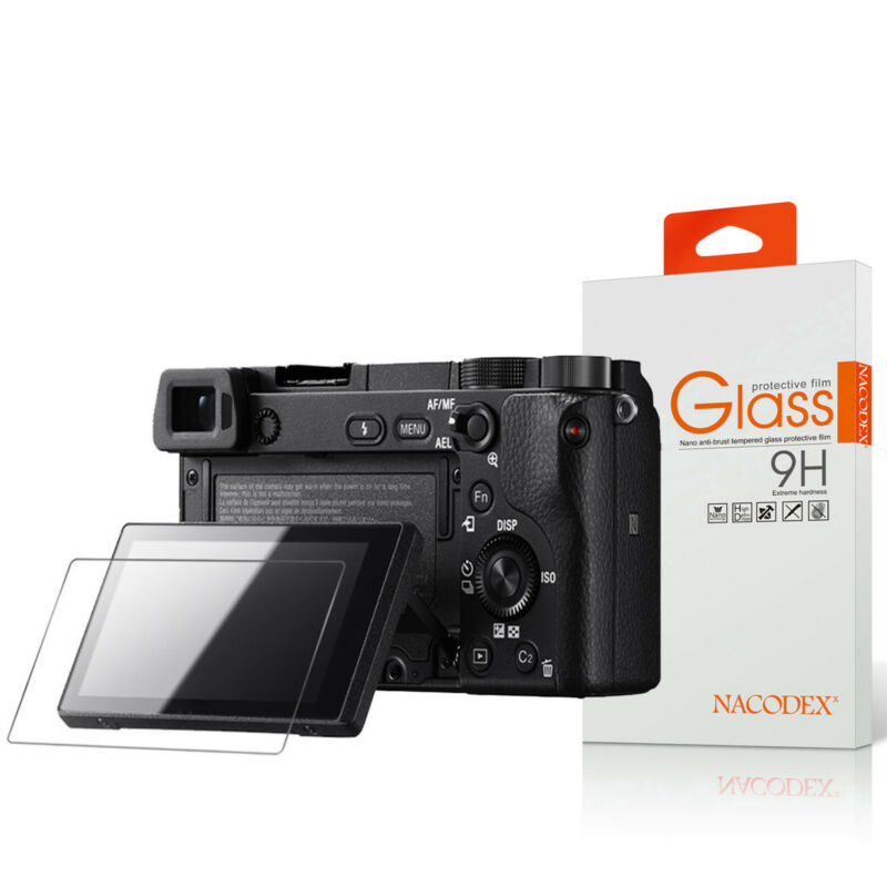 Nacodex For Sony A6000 A6300 A5000 Tempered Glass Screen Protector