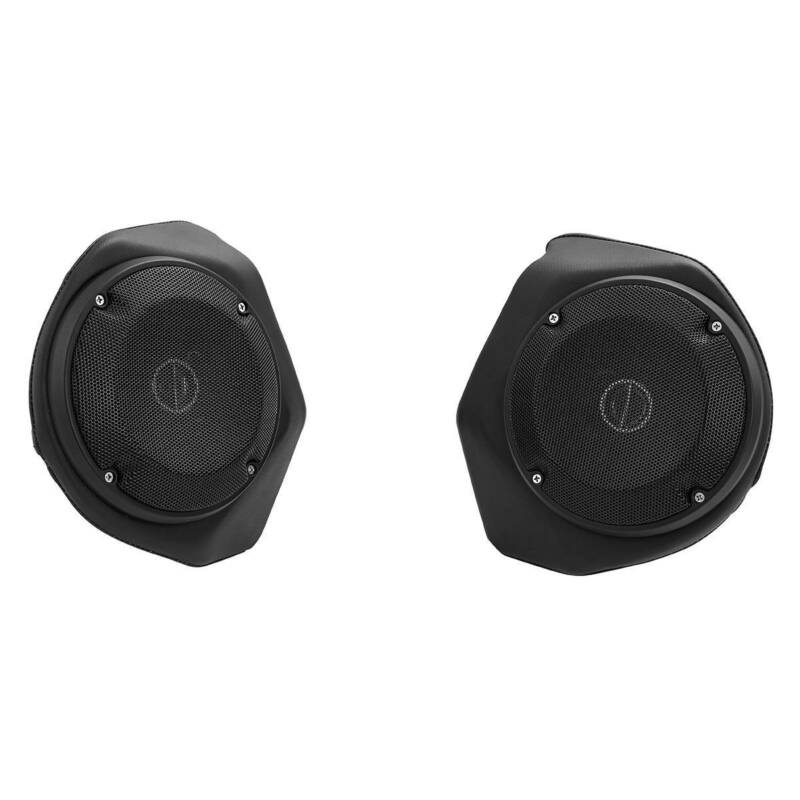 """Rear 6.5/"""" Speaker Pods Fit For Harley Tour Pak Touring Road Electra Glide 14-20"""