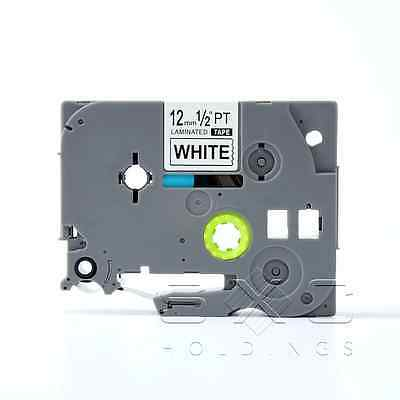 Compatible Brother P-touch Tz-231 Tze-231 12mm 12 Label-tape Black Ink 26.2 Ft