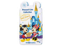 NEW Disney Parks Pressed Coin Collection Book Princess Adventure is On PVC